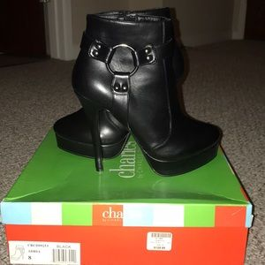 NWT Charles David High Heel Booties